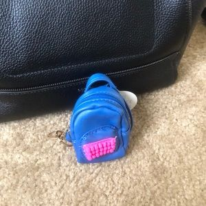 Mini keychain backpack